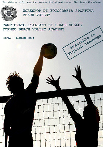 Workshop Fotografia Sportiva - Beach Volley