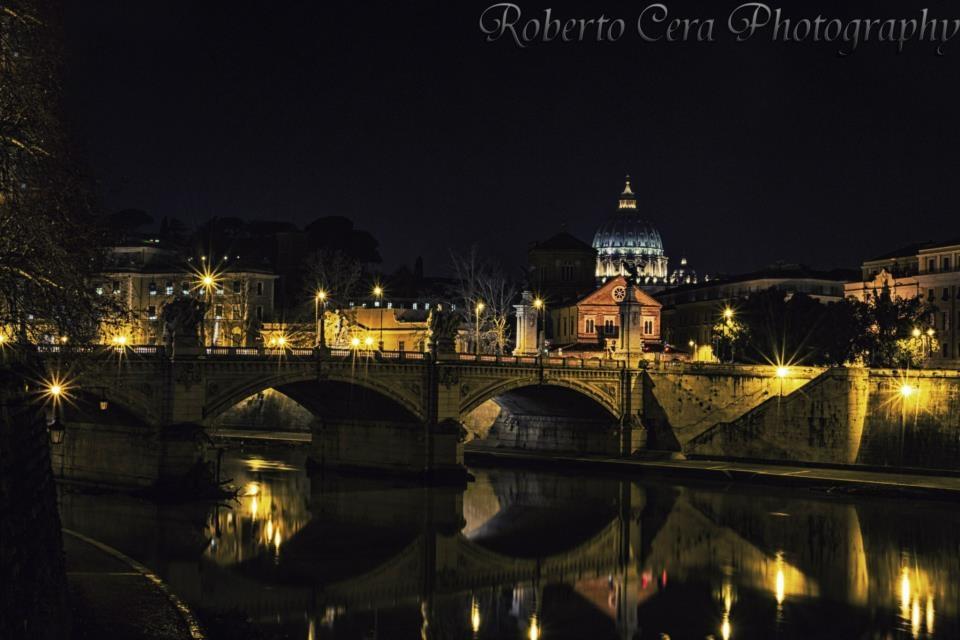Vista dal ponte di Castel Sant'Angelo