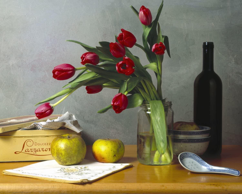 composizioni con tulipani