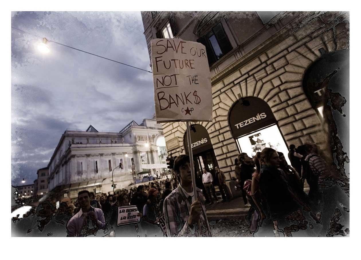 Pre Manifestation 13th October 2011, Rome