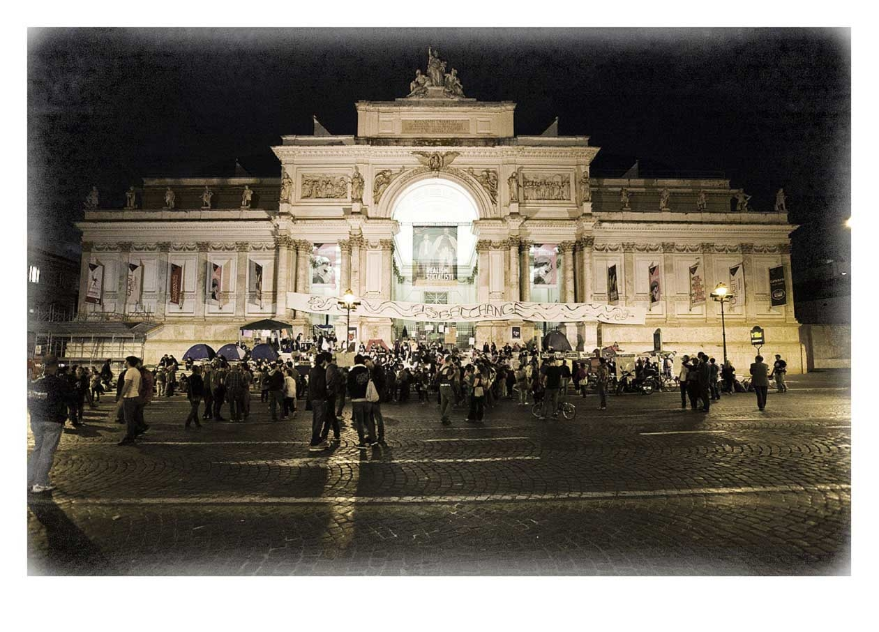 Pre Manifestation 13th October 2011, Rome