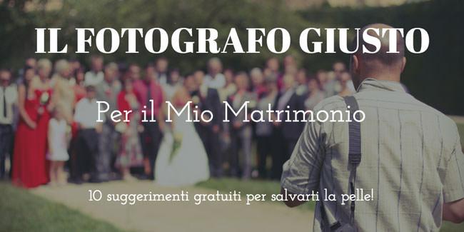 Cerco fotografo per il mio matrimonio