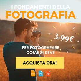 ebook per imparare a fotografare bene